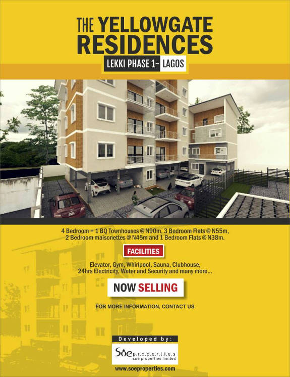 YellowGate Reisdences Now Selling